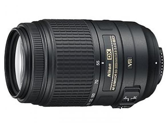 Объектив Nikon 55-300mm f/4.5-5.6G ED VR AF-S DX  Zoom-Nikkor