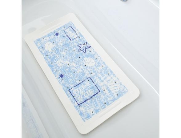 Коврик для ванной Bacchetta 36х71 Marea синий