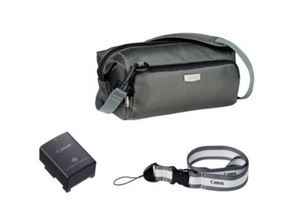 Аккумулятор Canon BP-808 + сумка (набор DVK-801)