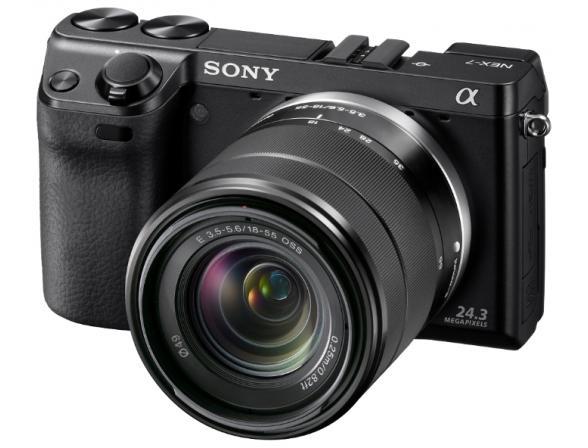 Цифровой фотоаппарат Sony Alpha NEX-7K Kit 18-55
