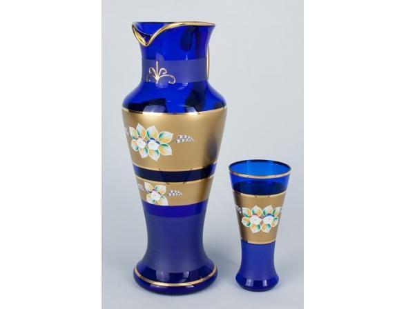 Набор для воды Crystal Art 1+6, 25101 (синий)