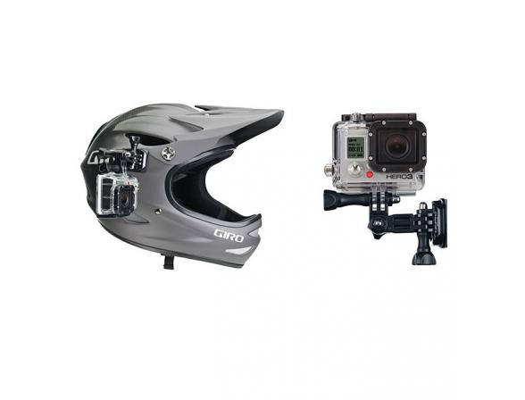 Аксессуар GoPro Боковое крепление для шлема,  автомобиля, мотоцикла и др. AHEDM-001