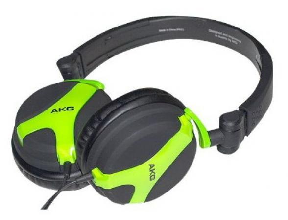 Наушники AKG K 518 LE/GREEN