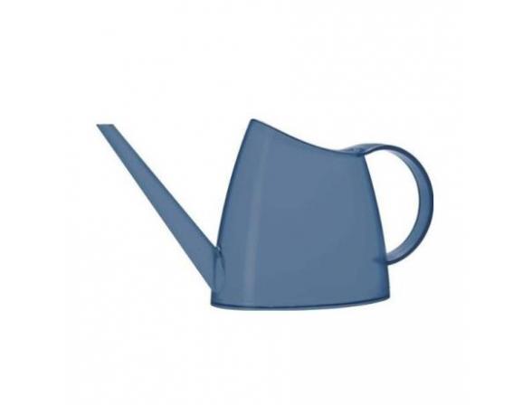 Лейка Emsa FUCHSIA 1.5 л, серо-синяя прозрачная