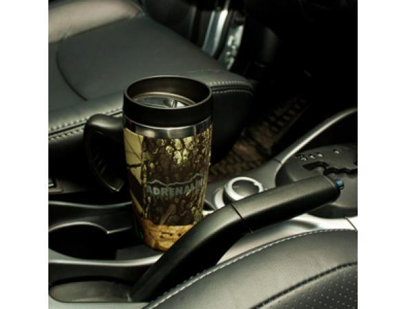 Термокружка с подогревом Adrenalin Auto Traveler Comfort Camo (450 мл)