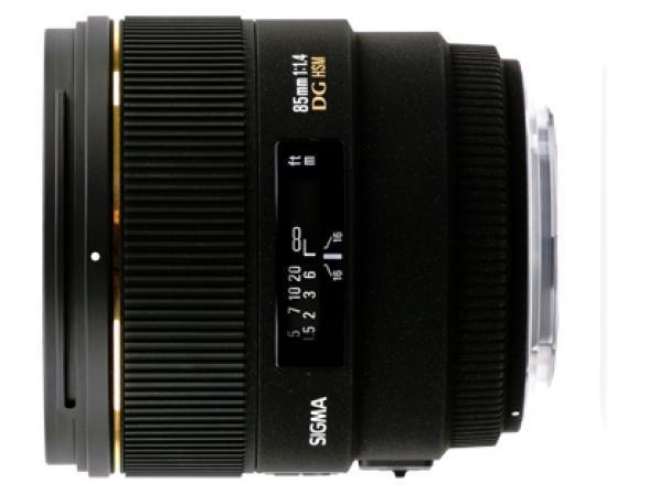 Объектив Sigma AF 85mm f/1.4 EX DG HSM SONY