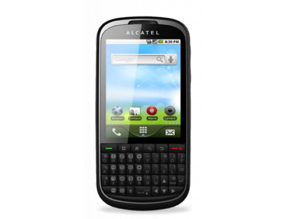 Телефон Alcatel OT910 Bluish Black