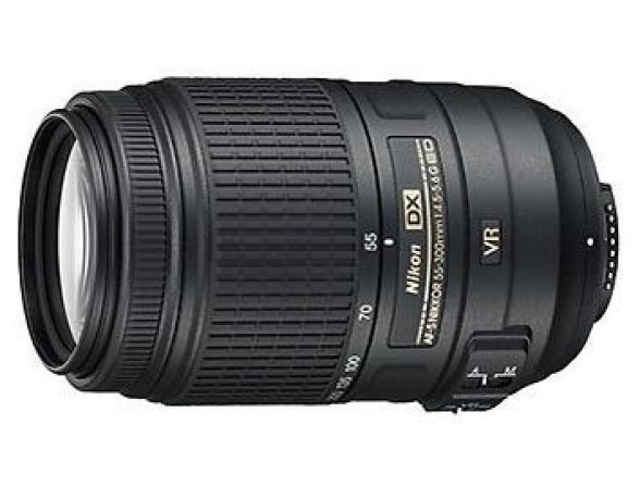 Объектив Nikon 55-300mm f/4.5-5.6G ED VR AF-S DX