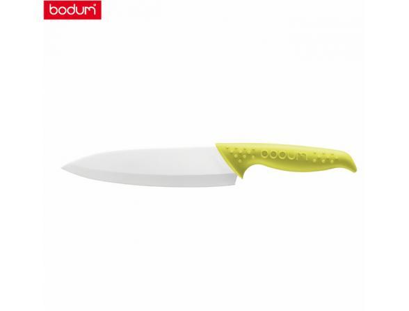 Нож Шеф BODUM BISTRO 18см зеленый