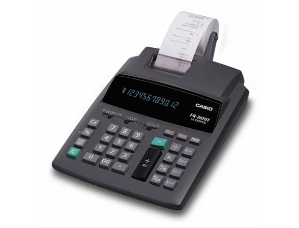 Калькулятор печатающий Casio casFR-2650T