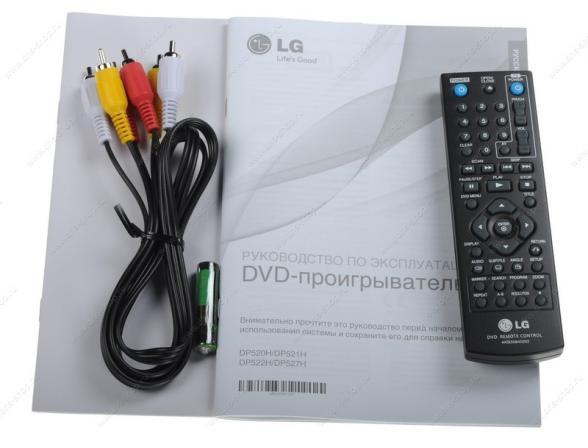 DVD плееры LG DP522H