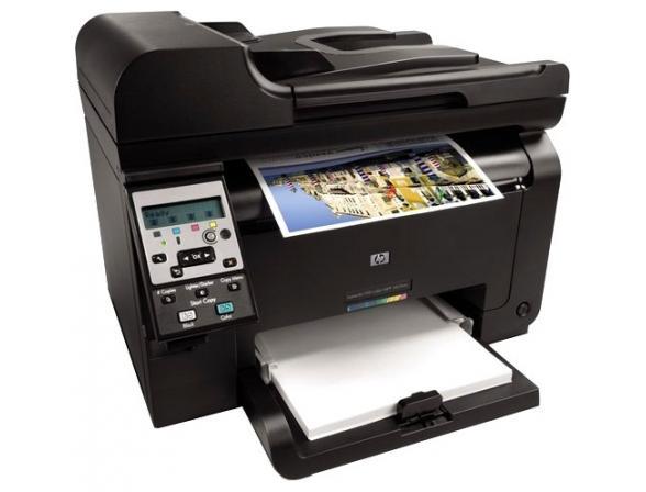 Многофункциональный аппарат HP LaserJet Pro 100 Color MFP 175nw
