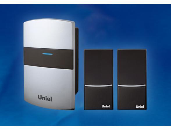 Звонок беспроводной Uniel UDB-004W-R1T2-32S-100M-SL