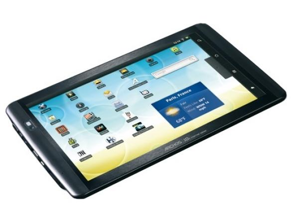 Планшет Archos 101 Internet Tablet 16Gb черный