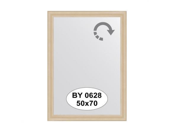 Зеркало в багетной раме EVOFORM бук BY 0628