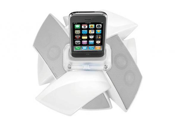 Док-станции для iPod/iPhone/iPad JBL ON STAGE IV WHITE
