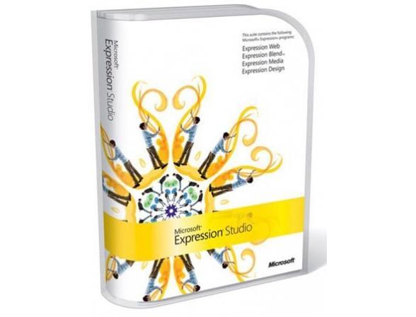Microsoft ПО Expression Studio Mac/Win English Disk Kit MVL CD