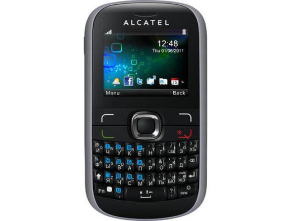 Телефон Alcatel OT585D Bluish Black