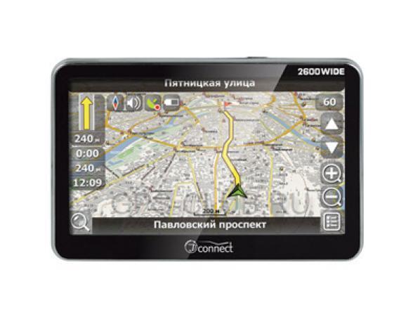 GPS-навигатор JJ-Connect AutoNavigator 2600 Wide Россия