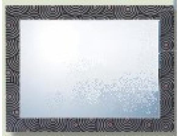 Зеркало декоративное Imagolux Май вайт харт, 80x60см (694008)