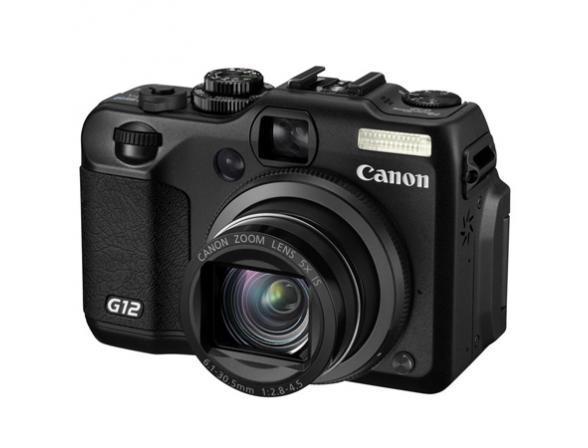 Цифровой фотоаппарат Canon PowerShot G12