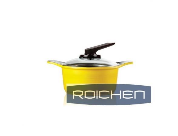 Кастрюля Roichen Natural Ceramic 20 см RNC-20 C/YS