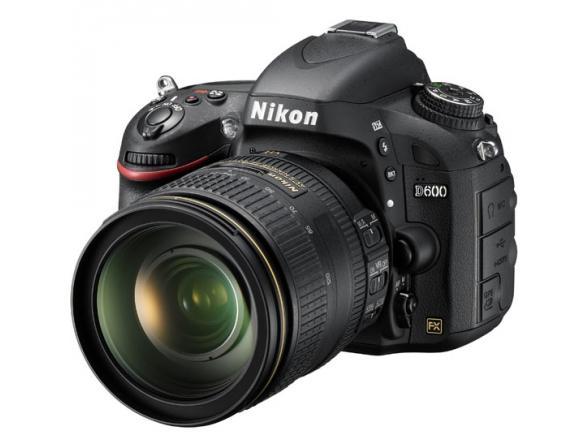 Зеркальный фотоаппарат Nikon D600 Kit 24-120 VR*