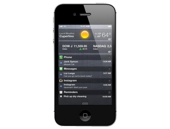 Коммуникатор Apple iPhone 4S 64Gb Black