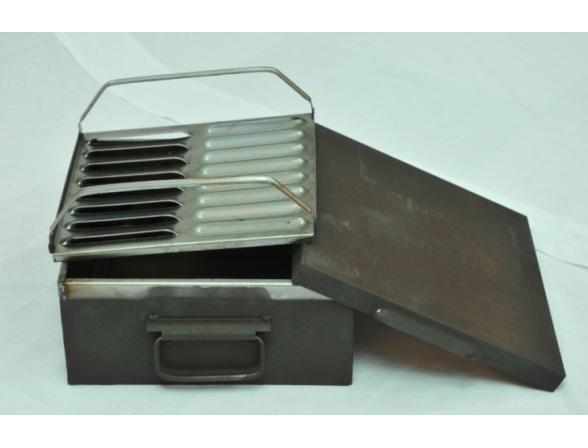 Коптильня малая однорядная КЭМЗ КМО 133