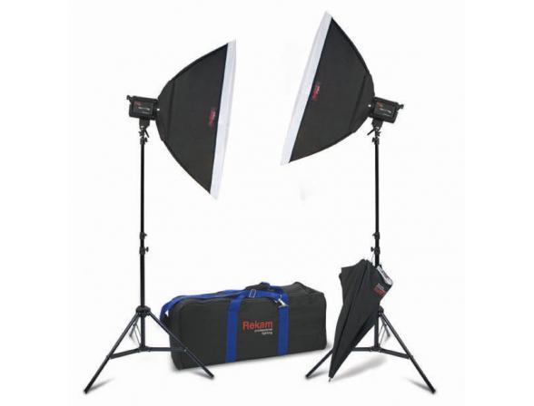 Комплект галогенных осветителей Rekam HaloLight 1000 Super 1K SB Kit 2
