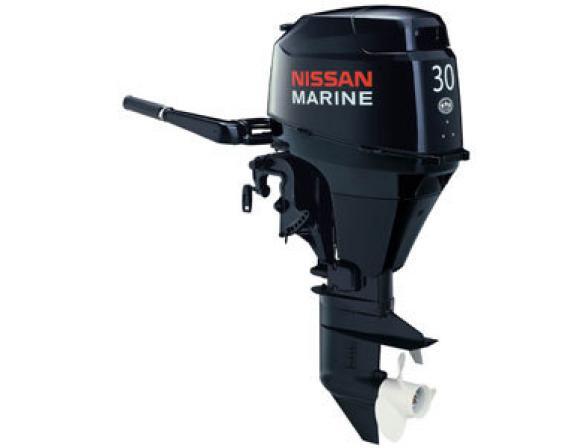 Лодочный мотор NISSAN MARINE 4-х тактный NSF 30 B EFI EPT2