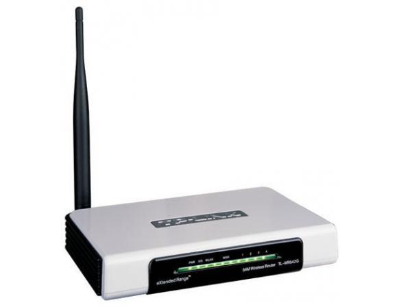 Беспроводной маршрутизатор TP-LINK TL-WR542G