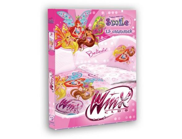 Комплект постельного белья Нордтекс Smile WINX1,5cп