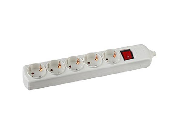 Колодка электрическая ЭРА K-5es 5гн, с заземлениемвыкл (10/40/100)