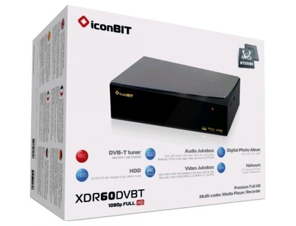 Медиаплеер IconBit XDR60DVBT