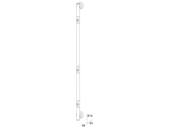 Штанга трехпозиционная FBS VIZOVICE 81 см VIZ 075