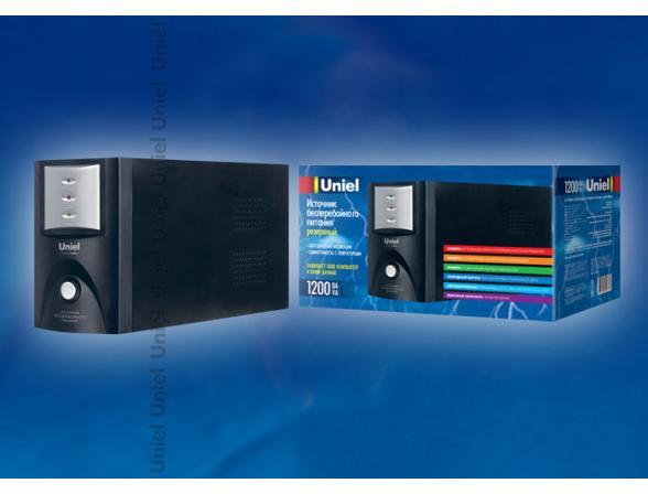 Источник бесперебойного питания Uniel U-RUPS-1200VA