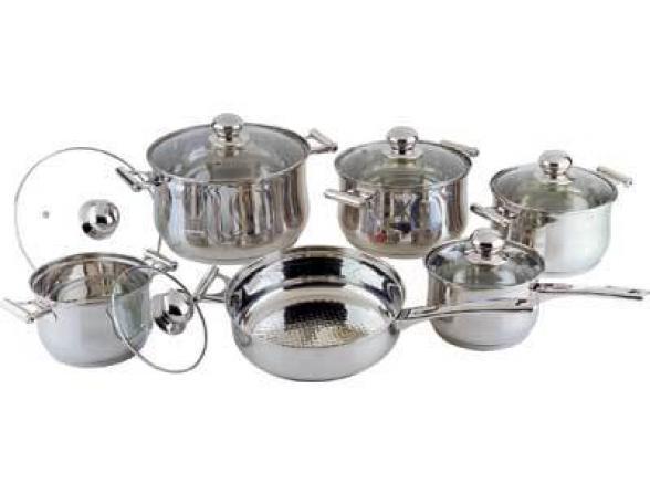Набор посуды BEKKER Jumbo BK-271
