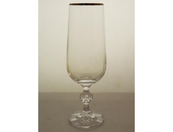 Набор бокалов для шампанского Bohemia Crystall Клаудия/20732S/180/  х 2