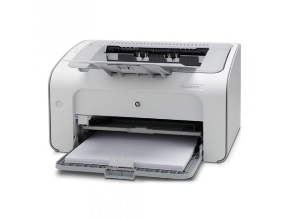 Принтер лазерный HP LaserJet P1102 Ru