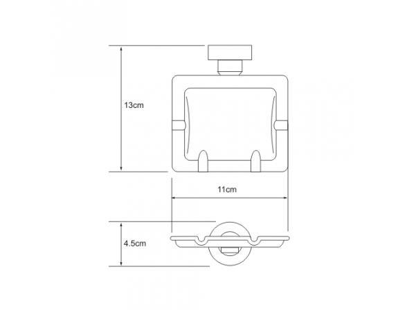 Пепqpdb WasserKRAFT подвесная, К-1081