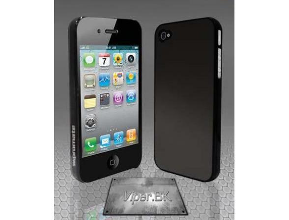 Защитный корпус Promate для iPhone 4 (Viper.BK) черный