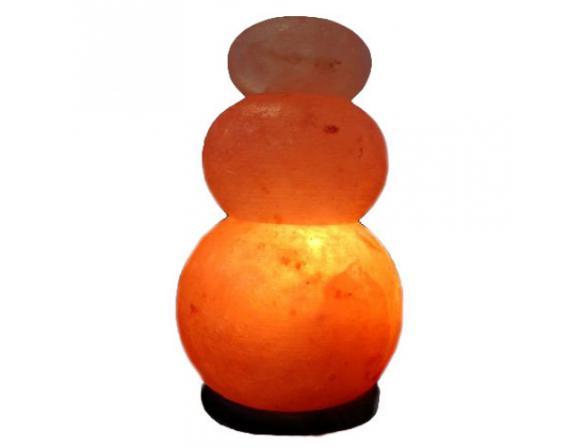 Солевая лампа ZENET Волна двойная
