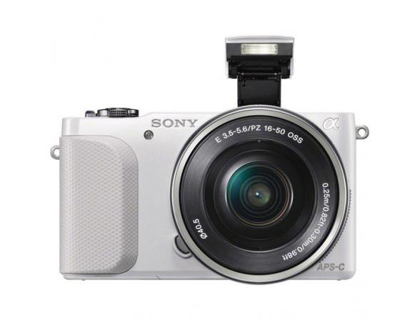 Цифровой фотоаппарат Sony Alpha NEX-3NL kit 16-50 white