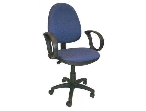 Кресло с подлокотниками BURO CH-360AXSN/#Blue
