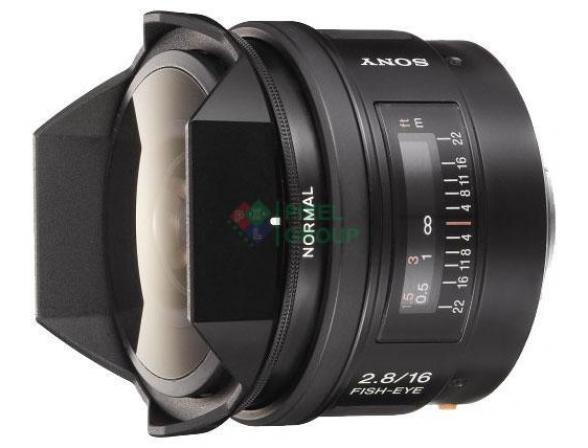 Объектив Sony 16mm f/2.8 Fisheye