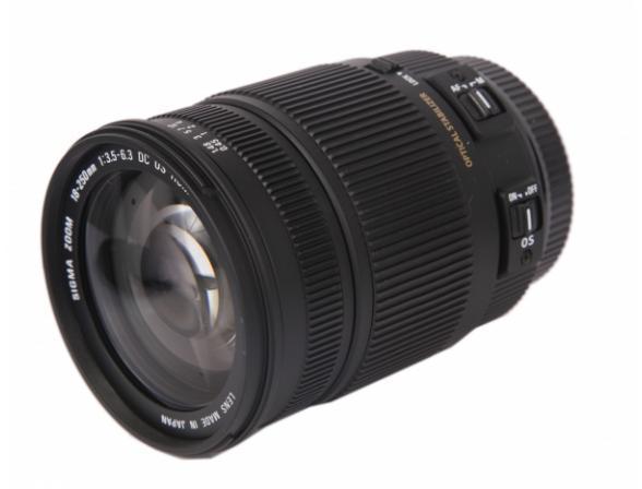 Объектив Sigma AF 18-250mm F3.5-6.3 DC MACRO OS HSM CANON