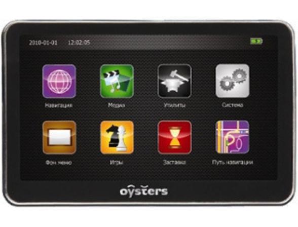 GPS-навигатор Oysters Chrom 2010