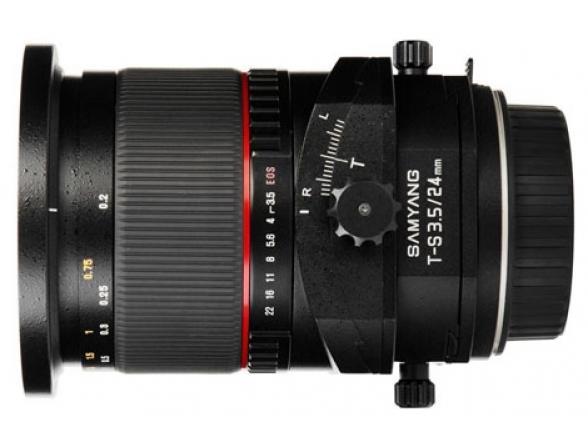 Объектив Samyang 24mm f/3.5 AS ED UMC Canon EF