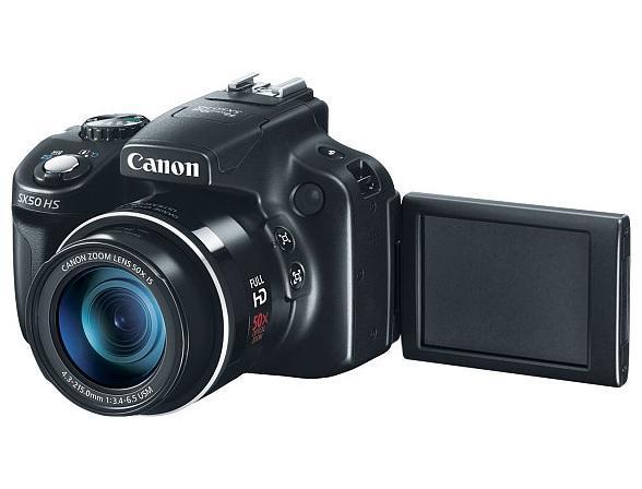 Цифровой фотоаппарат Canon PowerShot SX50 HS
